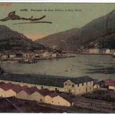 Postales: PASAJES DE SAN PEDRO Y SAN JUAN , GUIPUZCOA. Lote 9422576