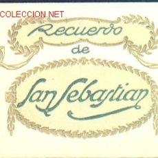 Postales: 20 POSTALES ** RECUERDO DE SAN SEBASTIAN **. Lote 22016223