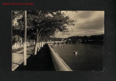 POSTAL DE PLENCIA (BIZKAIA): PASEO DE ALLENDESALAZAR (ED.MAITE NUM. 155) (Postales - España - Pais Vasco Antigua (hasta 1939))