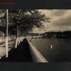 Postales: POSTAL DE PLENCIA (BIZKAIA): PASEO DE ALLENDESALAZAR (ED.MAITE NUM. 155). Lote 707933