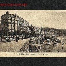 Postales: POSTAL DE SAN SEBASTIAN (GUIPUZKOA): HOTELES Y PASEO DE LA CONCHA. Lote 716879