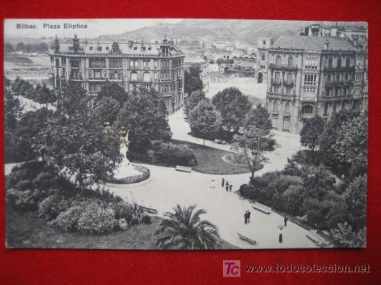 BILBAO, PLAZA ELÍPTICA, ( VIZCAYA ) TP616 (Postales - España - Pais Vasco Antigua (hasta 1939))
