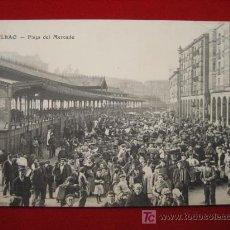 Postales: BILBAO, PLAZA DEL MERCADO, ( VIZCAYA ) TP684 . Lote 1667650