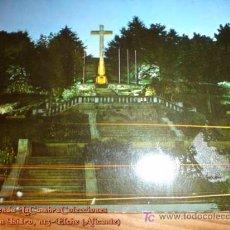 Postales: POSTAL VIGO MONUMENTO A LOS CAIDOS, ESCRITA Y SELLADA , AÑOS 60.. Lote 3305147