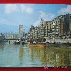 Postales: BILBAO, MUELLE DE RIPA, ( VIZCAYA ) TP3024 . Lote 3370917