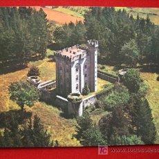 Postales: ARTEAGA, CASTILLO, VISTA AÉREA, ( VIZCAYA ). Lote 2302972