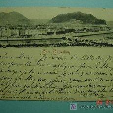 Postales: 2891 SAN SEBASTIAN CIRCULADA EN 1900 MAS EN MI TIENDA TC COSAS&CURIOSAS. Lote 26806136