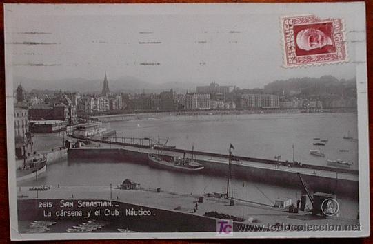 POSTAL SAN SEBASTIAN (Postales - España - Pais Vasco Antigua (hasta 1939))