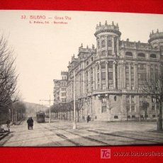 Postales: BILBAO, GRAN VIA, ( VIZCAYA ). Lote 2703548
