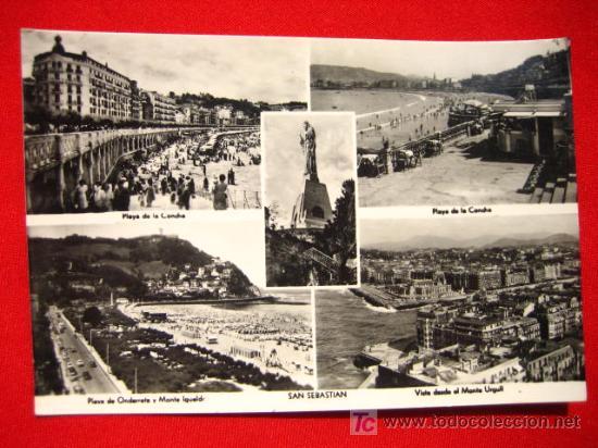 SAN SEBASTIAN, VARIAS VISTAS TP2513 (Postales - España - Pais Vasco Antigua (hasta 1939))