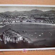 Postales: SAN SEBASTIAN AÑOS 40 - POSTAL MANUSCRITA FECHADA AÑO 1944 Y CON SELLO MATASELLADO.. Lote 16870591