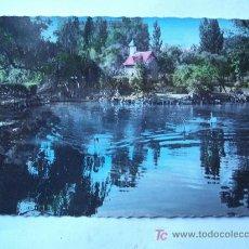 Postales: BONITA POSTAL DE BILBAO 45, ESTANQUE DEL PARQUE (AÑOS 50). Lote 23208464