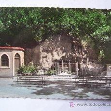Postales: BONITA POSTAL DE BILBAO 141, GRUTA DE NTRA SRA DE LOURDES, EN ARCHANDA (AÑOS 50). Lote 23208465