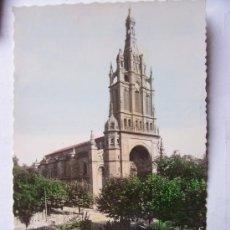 Postales: BONITA POSTAL DE BILBAO , BASILICA DE NTRA SRA DE BEGOÑA (AÑOS 50). Lote 23208467
