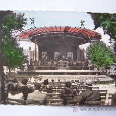 Postales: BONITA POSTAL DE BILBAO 40, PASEO DEL ARENAL. KIOSCO DE LA MUSICA (AÑOS 50). Lote 23208471