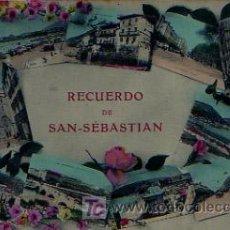 Postales: SAN SEBASTIÁN. RECUERDO DE SAN SEBASTIÁN. . Lote 5006513