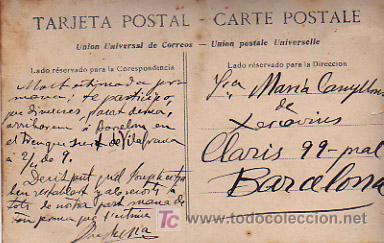 Postales: SAN SEBASTIÁN. RECUERDO DE SAN SEBASTIÁN. - Foto 2 - 5006513
