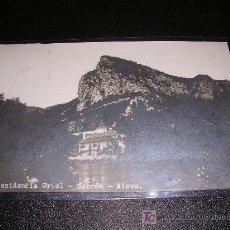 Postales: RESIDENCIA ORIOL, SOBRON, ALAVA, FOTOGRAFICA. Lote 5258135