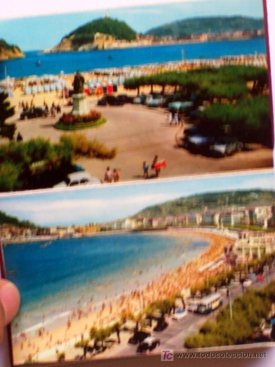 Postales: PRECIOSA CARTERITA RECUERDO CON 24 FOTOGRAFIAS DE SAN SEBASTIAN AÑOS 60 - Foto 2 - 25996704