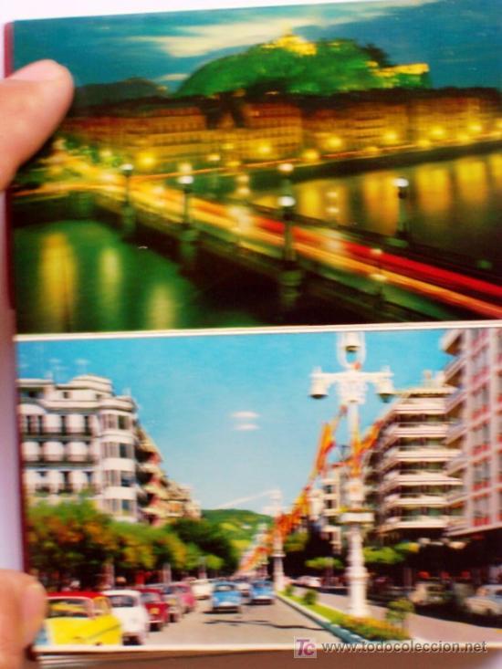 Postales: PRECIOSA CARTERITA RECUERDO CON 24 FOTOGRAFIAS DE SAN SEBASTIAN AÑOS 60 - Foto 3 - 25996704
