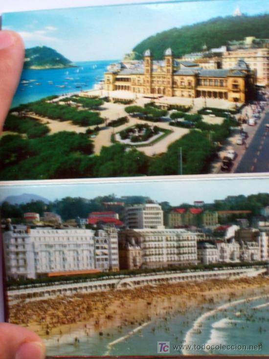 Postales: PRECIOSA CARTERITA RECUERDO CON 24 FOTOGRAFIAS DE SAN SEBASTIAN AÑOS 60 - Foto 4 - 25996704