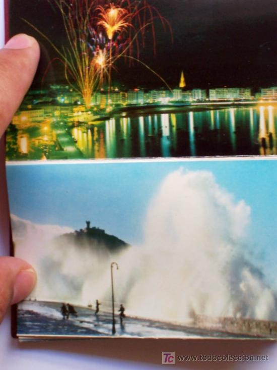 Postales: PRECIOSA CARTERITA RECUERDO CON 24 FOTOGRAFIAS DE SAN SEBASTIAN AÑOS 60 - Foto 5 - 25996704