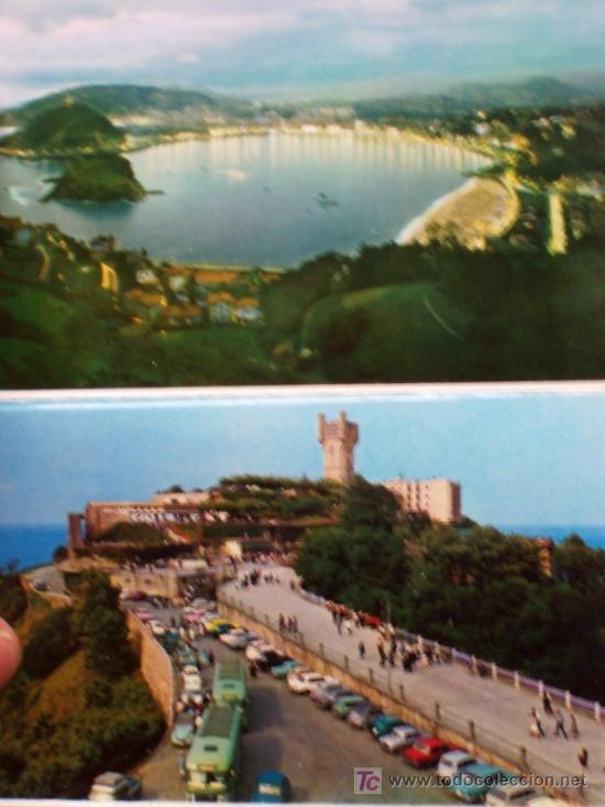 Postales: PRECIOSA CARTERITA RECUERDO CON 24 FOTOGRAFIAS DE SAN SEBASTIAN AÑOS 60 - Foto 7 - 25996704