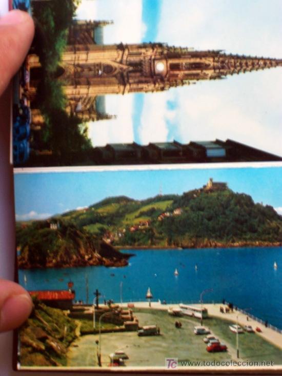 Postales: PRECIOSA CARTERITA RECUERDO CON 24 FOTOGRAFIAS DE SAN SEBASTIAN AÑOS 60 - Foto 10 - 25996704