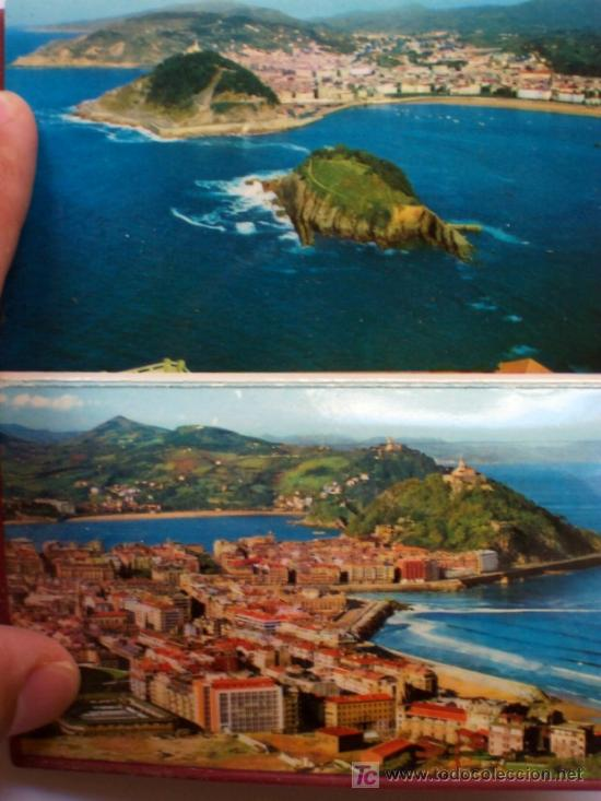 Postales: PRECIOSA CARTERITA RECUERDO CON 24 FOTOGRAFIAS DE SAN SEBASTIAN AÑOS 60 - Foto 12 - 25996704