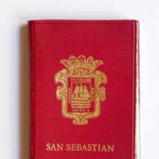 Postales: PRECIOSA CARTERITA RECUERDO CON 24 FOTOGRAFIAS DE SAN SEBASTIAN AÑOS 60. Lote 25996704