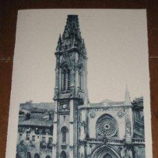 Postales: ANTIGUA POSTAL DE BILBAO - IGLESIA DE SANTIAGO (VIZCAYA) . FOTO ROISIN - SIN CIRCULAR. Lote 5915076
