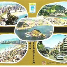Postales: SAN SEBASTIAN - SERIE ORO N 29. Lote 6039830