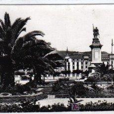 Postales: 574 - SAN SEBASTIAN - JARDINES Y MONUMENTO AL ALMIRANTE OQUENDO. Lote 27546200