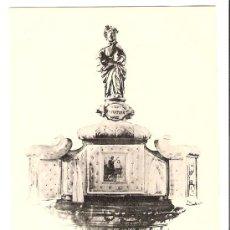 Postales: TARJETA POSTAL DE GUIPUZCOA AZPEITIA , PILA DONDE FUE BAUTIZADO SAN IGNACIO. Lote 6304789