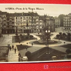 Postales: VITORIA, PLAZA DE LA VIRGEN BLANCA TP5798 . Lote 6334764