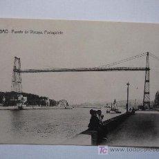 Postales: BILBAO - PUENTE DE VIZCAYA, PORTUGALETE - SIN CIRCULAR. Lote 6739806