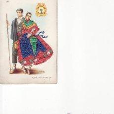 Postales: POSTAL BORDADA VASCONGADAS Nº19.MAS POSTALES EN RASTRILLOPORTOBELLO. Lote 25617701