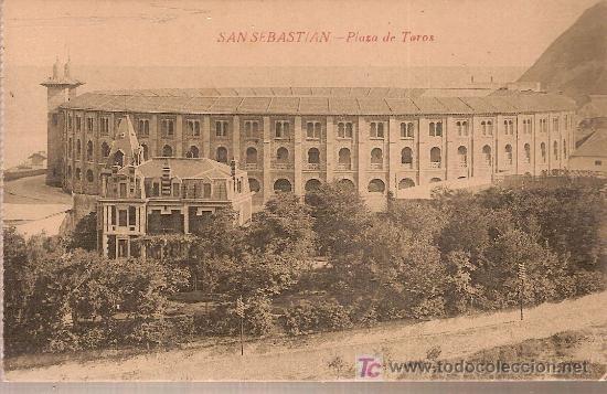 SAN SEBASTIAN. PLAZA DE TOROS. (Postales - España - Pais Vasco Antigua (hasta 1939))