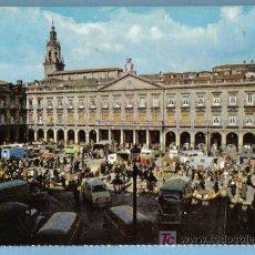 Postales: VITORIA. PLAZA DE ESPAÑA. EDITOR FARDI. BARCELONA. Lote 7118944