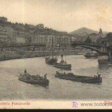 Postkarten - Postal Antigua BILBAO - Puente Giratorio Funcionando. - 14487033