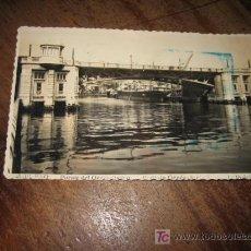 Postales: BILBAO.-PUENTE DEL GENERALISIMO.-F.ROISINI. Lote 7400612