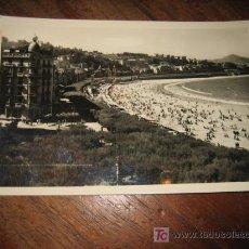 Postales: SAN SEBASTIAN PASEO Y PLAYA DE LA CONCHA . Lote 7422920
