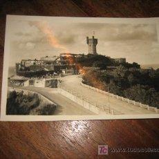 Postales: SAN SEBASTIAN PARQUE Y TORREON DE IGUELDO . Lote 7422943