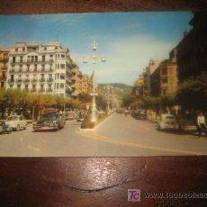 Postales: SAN SEBASTIAN AVENIDA DE ESPAÑA . Lote 7459213