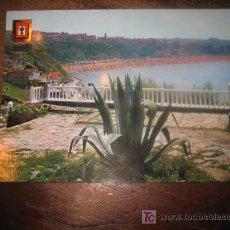 Postales: ALGORTA VIZCAYA PARQUE DE USATEGUI Y PLAYA DE NEGURI. Lote 7459268