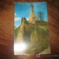 Postales: SAN SEBSTIAN MONUMENTO AL SAGRADO CORAZON EN EL MONTE URGULL. Lote 7459279