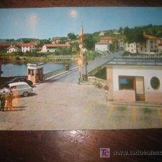 Postales: SAN SEBASTIAN PUENTE INTERNACIONAL DE BEHOBIA . Lote 7459295