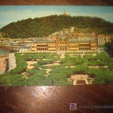 Postales: SAN SEBASTIAN AYUNTAMIENTO Y PARQUE . Lote 7459331
