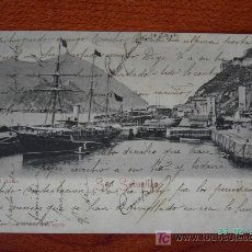 Postales: SAN SEBASTIAN - EL MUELLE. Lote 7661315