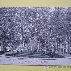 Postales: BILBAO - PLAZA DE ALBIA - SIN CIRCULAR. Lote 7816144